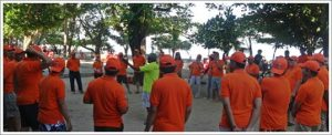 Outbound di Bali - Pantai Kuta PT. Rekayasa Industri 21062016