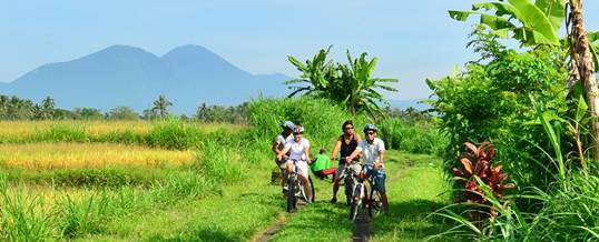 Paket Outing Ke Bali Luwus Cycling