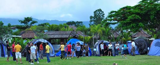 Gathering di Bali - Toya Devasya Camping Package
