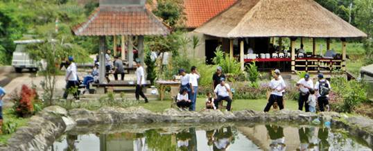 Outbound Bali - Program Mancing