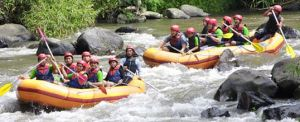 Outbound Bali Puri Rafting Experience