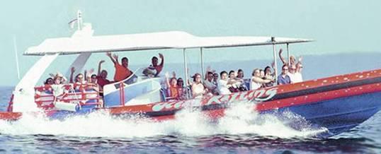 Adventure Bali Hai Cruice Rafting