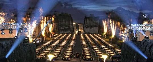 Gathering Bali GWK Amphitheater