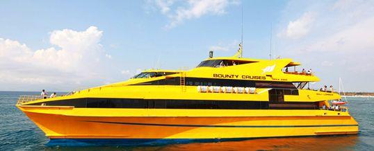 Wisata Adventure Bali Bounty Cruice