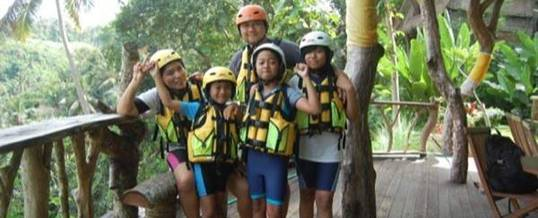 Petanu River Tubing Adventure di Bali