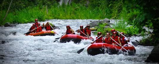 Rafting Bali di Sungai Telaga Waja