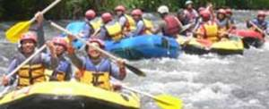 Adventure Rafting Telaga Waja