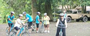 Cycling Bali Nature Adventure Start