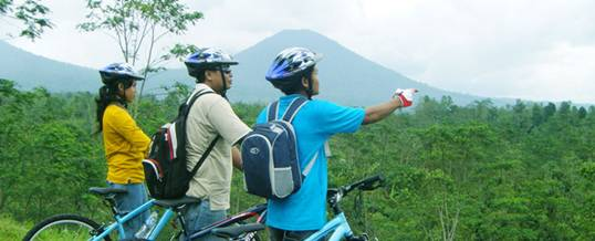 Cycling Bali Nature Adventure View