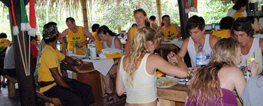 Rafting Telaga Waja Alam Restaurant