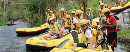 Rafting Telaga Waja Alam Start Point