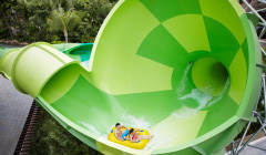 Adventure Cove Waterkpark - Spiral Washout