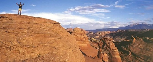 Delicate Arch Trail in Arches National Park 1