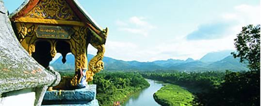 Laos. A land of beautiful temples and lush vegetation
