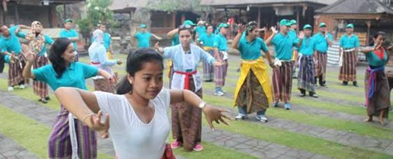 Outbound Bali Taman Ayun