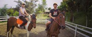 Paket Outbound di Bali - The Sila's Agrotourism Horse Riding 06 2015