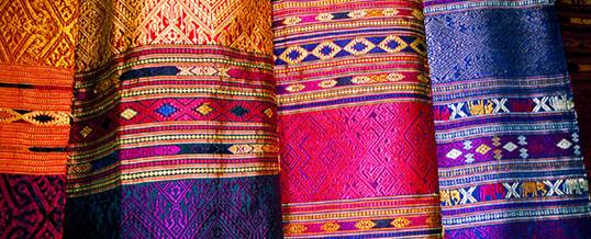 Some of the beautiful textiles you will encounter
