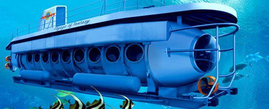 Adventure Odyssey Submarine di Bali