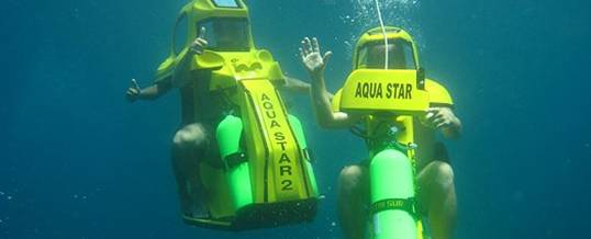 Bali Adventure Underwater Scooter Bali