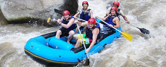Adventure Rafting Bali Graha