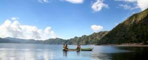 Canoing Bali Danau Batur