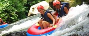 Tubing Bali Tandem Tampak Siring