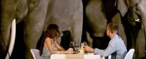 Wisata Naik Gajah Bali Makan Malam