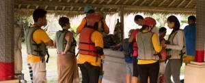Bali Rafting Malam Sungai Ayung - Persiapan