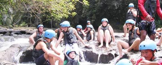 Bali River Tubing Adventure Group Ubud Camp