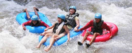 Bali River Tubing Adventure Ayung Ubud Camp
