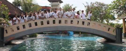 Outbound Bali Taman Segara Madu 07