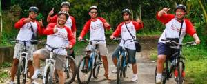 Outbound Bali Tips Kombinasi Cycling