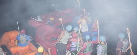 Rafting Bali Sungai Ayung Malam