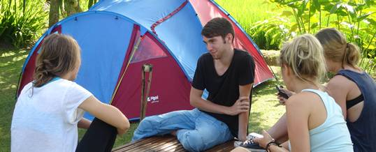Bali Outbound Camping Breakfast
