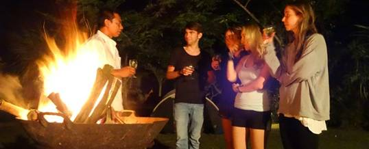 Outbound Bali Camping BBQ