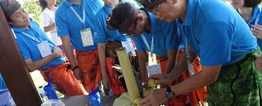 Outbound Bali - HP Partner Submit 2014 - WTM Bali - Game Gebogan