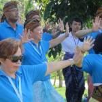 Outbound Bali - HP Partner Submit 2014 - WTM Bali - Tari Tangan