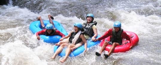 Outing Bali Ubud Camp Tubing Adventure Ayung