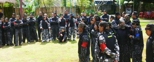 Tips Memilih Adventure di Bali - Paintball