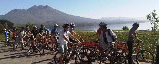 Wisata Adventure Bali di Batur dan Sekitar Kintamani - Cycling & Canoeing