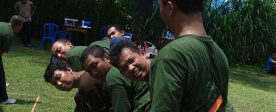 Outbound Bali PT. Pertamina Balikpapan Toleh 01