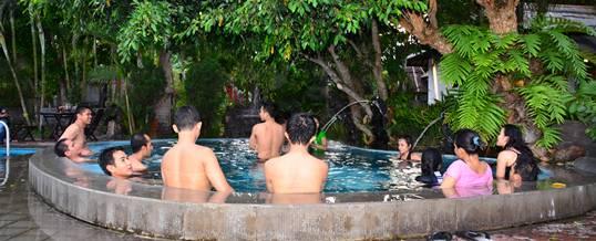 Toya Devasya Gathering Bali Hot Spring