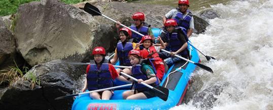 Outing Bali Graha Rafting