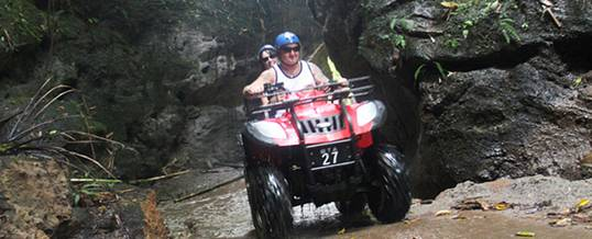 Outing Ke Bali ATV Ride Taro