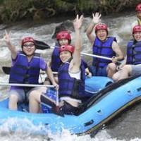 Outing ke Bali ATV Ride Kombinasi Ayung Rafting