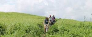 Paket Outbound di Bali Cycling Bukit Cinta Ubud Gianyar
