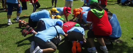 Outbound Colorpak Problem Solving Games