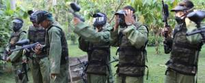 Outbound Bali Bank Mandiri Paint Ball Taro PS2