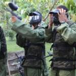 Outbound Bali Bank Mandiri Paint Ball Taro