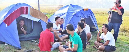 Outbound Paket Outbound Bali Bank Mandiri Camping